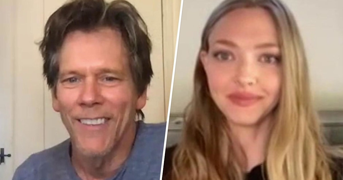 Kevin Bacon And Amanda Seyfried Talk New Film You Should Have Left
