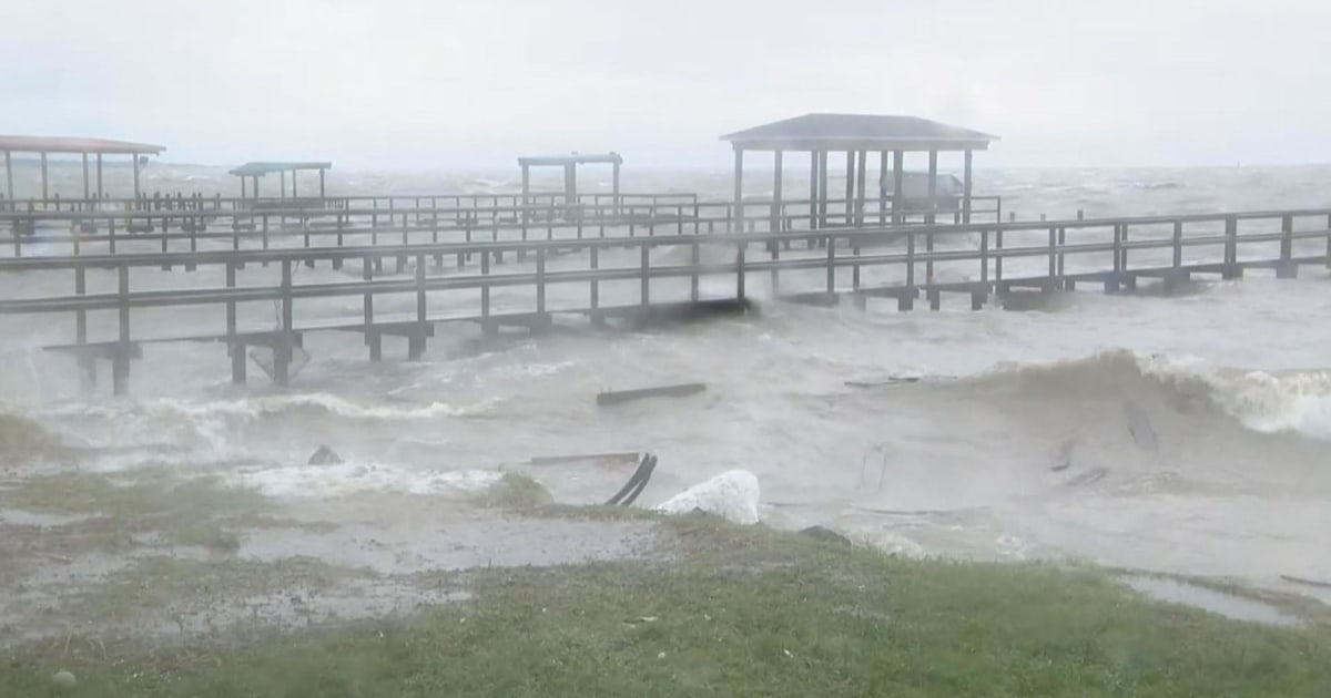Tropical Storm Beta becomes latest storm to slam Gulf Coast