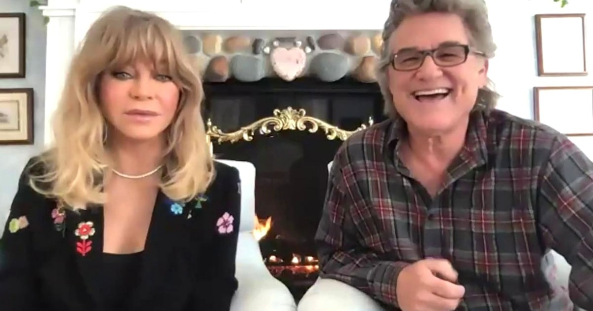 Kurt Russell and Goldie Hawn on their new holiday film and long relationship