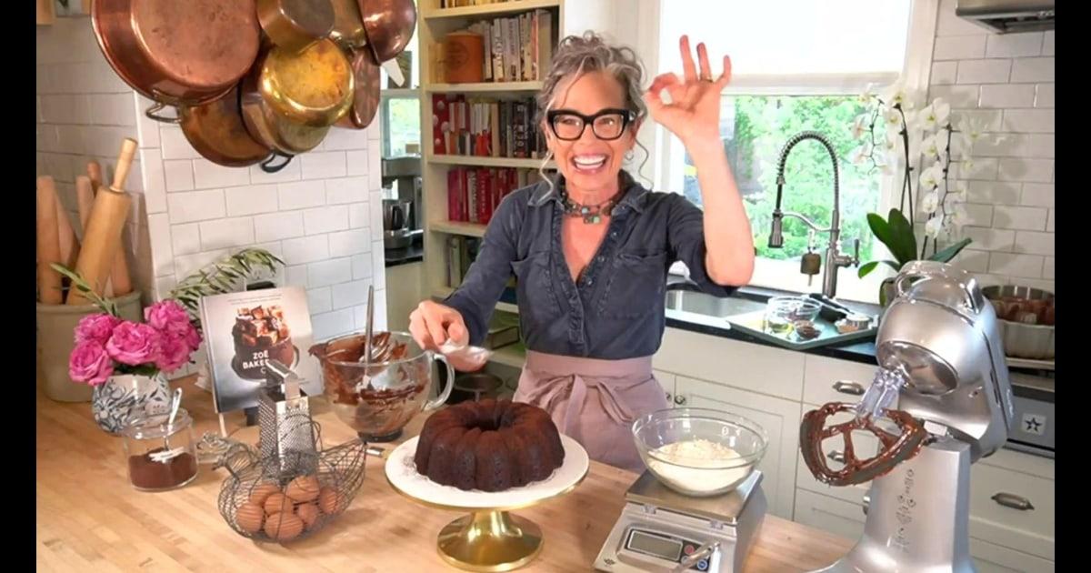 Zoë François makes chocolate bundt cake