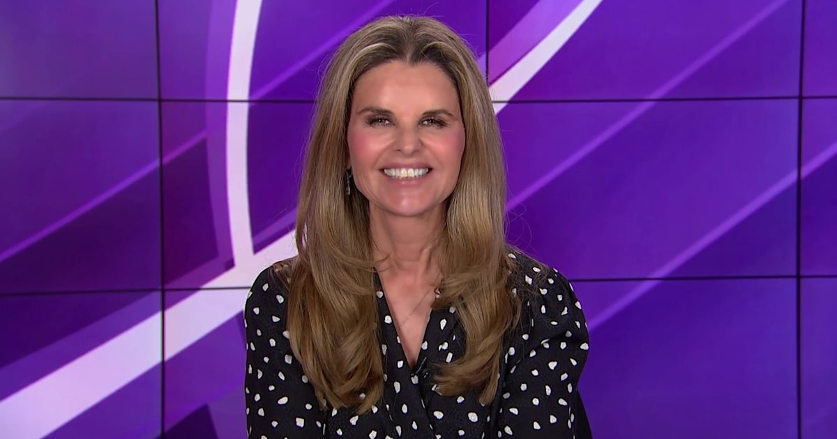 Maria Shriver talks about new 'hope' in Alzheimer's treatment research