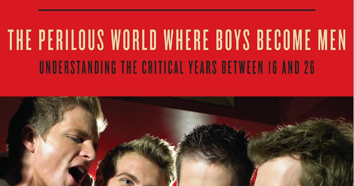 Boys to men: Why guys aren't growing up