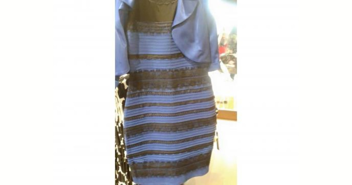 The Dress Is Blue Heres Why