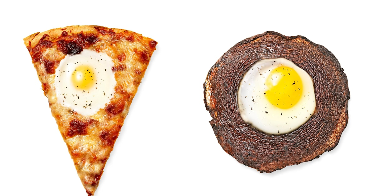 5 awesome new takes on egg-in-a-hole — from pizza to portobellos!