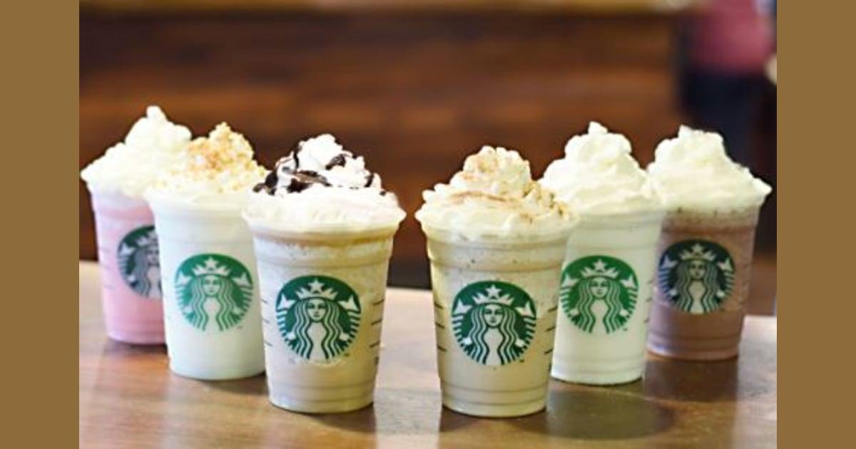 Starbucks Puts 6 New Frappuccino Flavors On The Menu