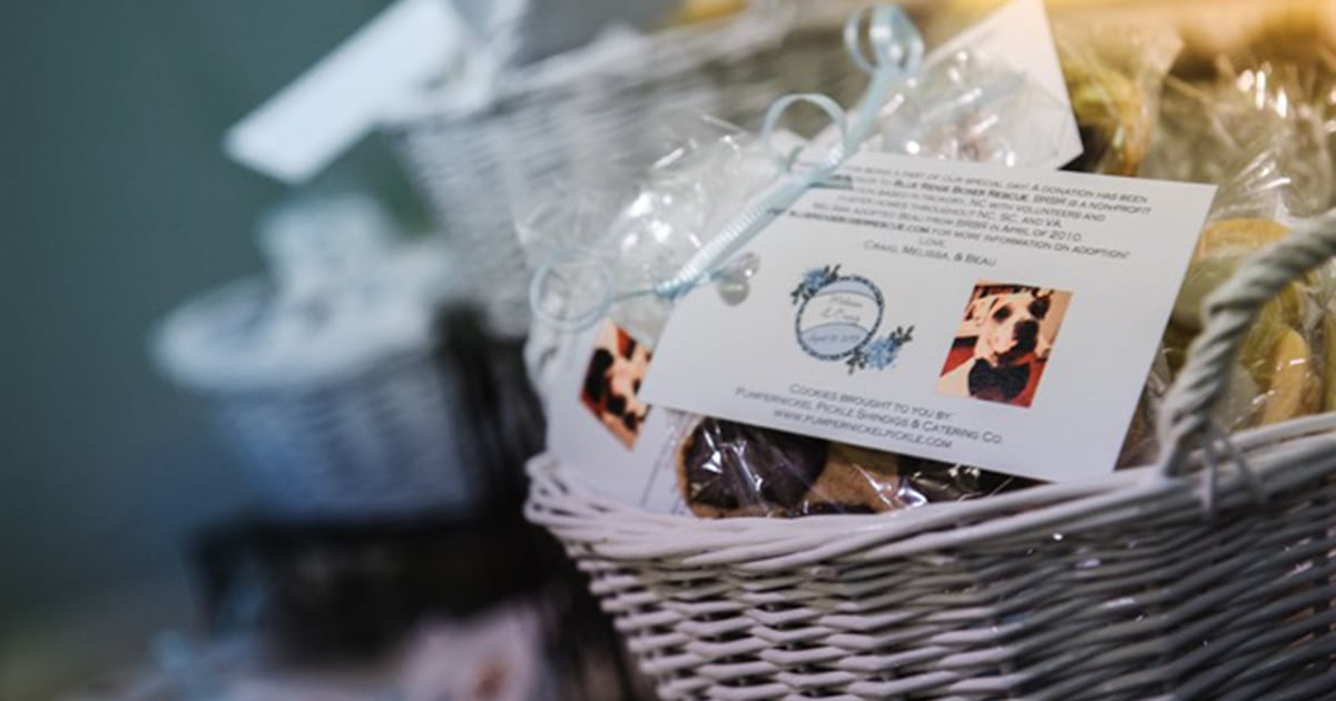 New Wedding Trend Skip Tired Party Favors Donate Instead