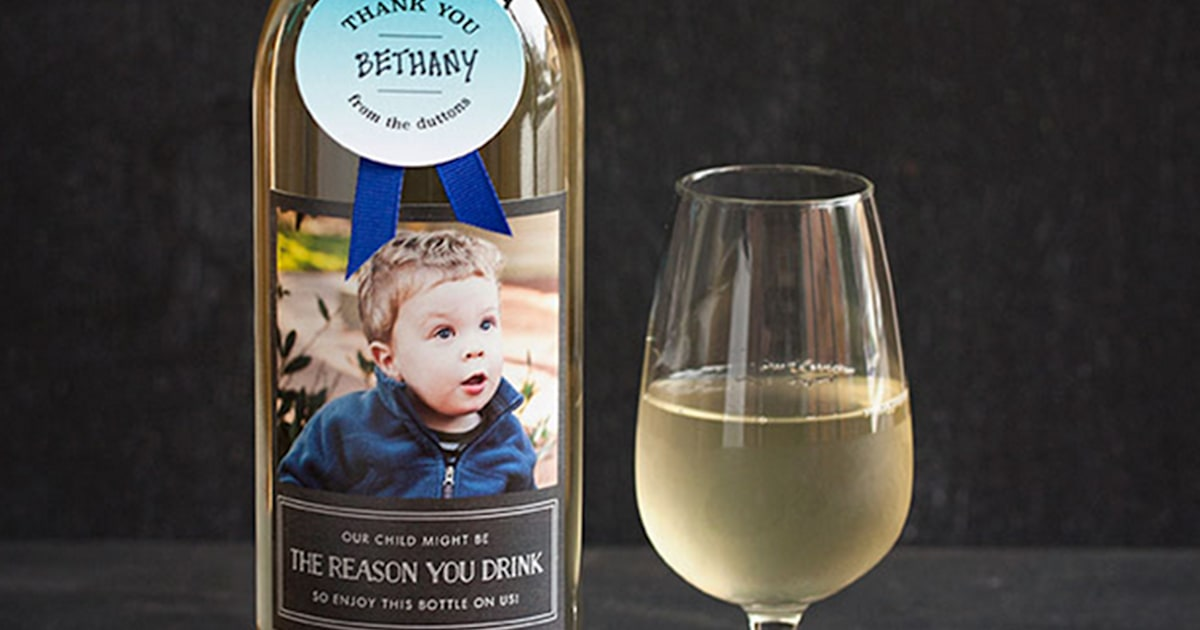 'Our child might be the reason you drink' teacher gift