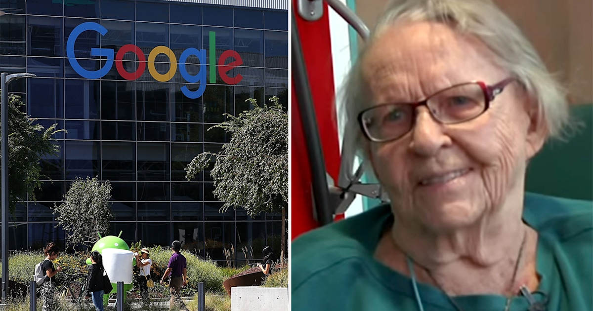 Tech Savvy 97 Year Old Sees The Future At Google