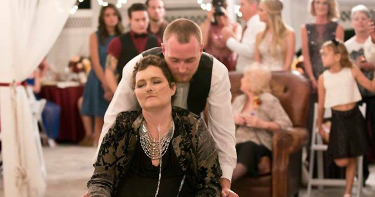 Son moves wedding up 1 year so mom with terminal cancer can attend
