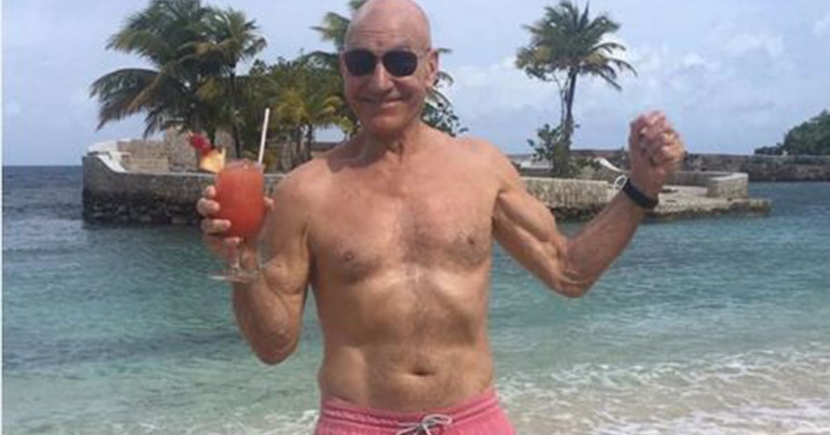 Want rock-solid abs? 75-year-old Patrick Stewart shares his secret