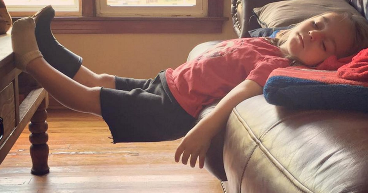 15 funniest places where kids have fallen asleep: That can ...