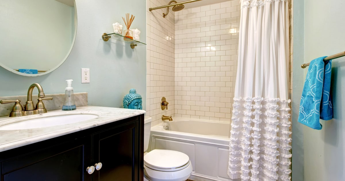 How To Clean Your Shower Curtain And, How To Clean The Plastic Shower Curtain