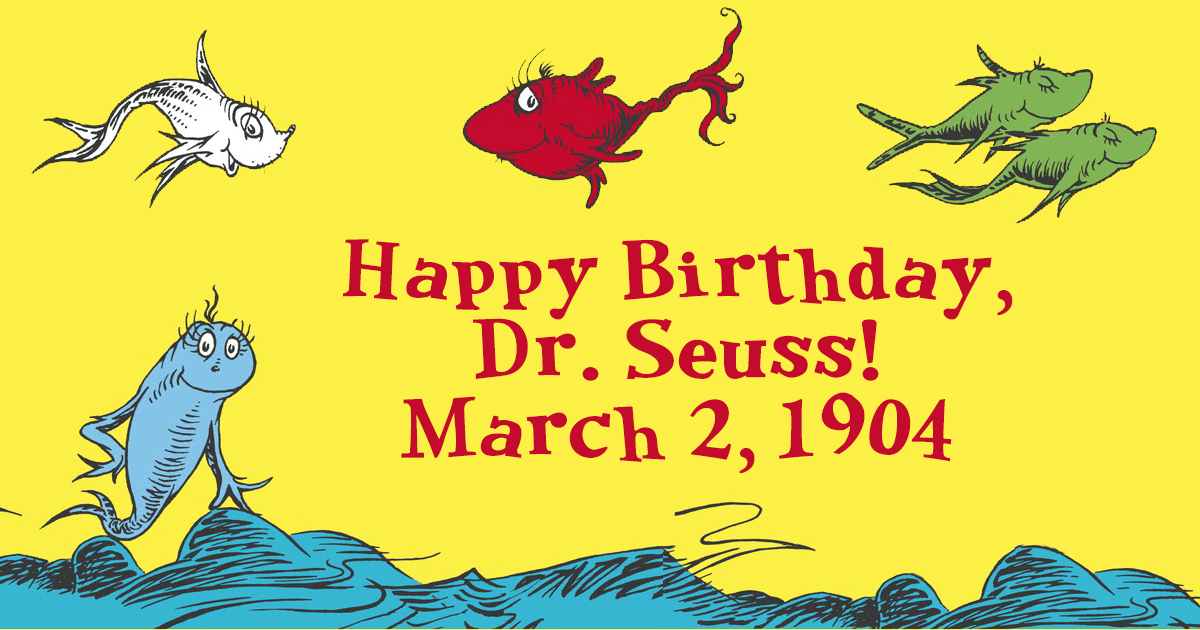 Image result for happy birthday dr seuss