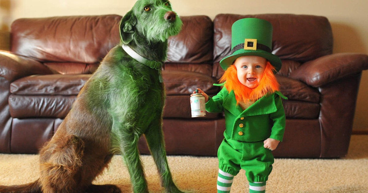 St. Patrick's Day for kids: See dad's cute leprechaun photos