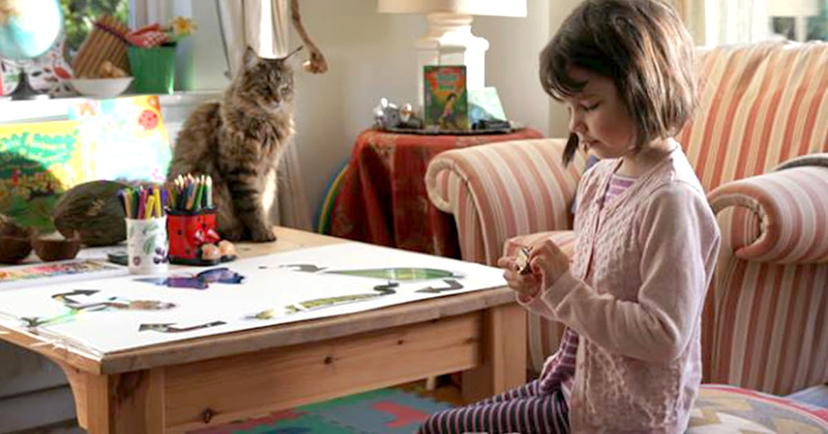 How a cat helped a 6-year-old girl with autism finally speak