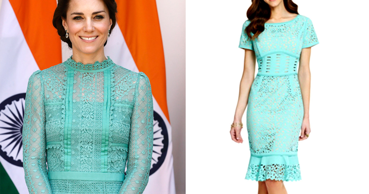 717b9655ce2 How to get Duchess Kate's look from her India and Buhtan trip