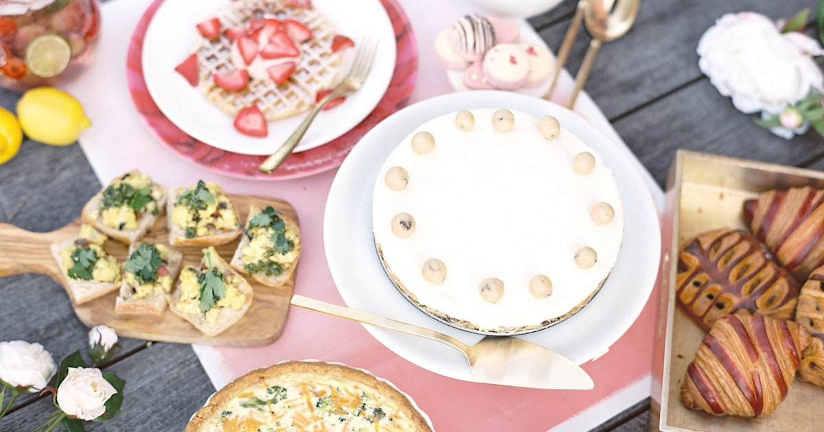 Mother's Day Recipes: brunch, breakfast, lunch and dinner ideas