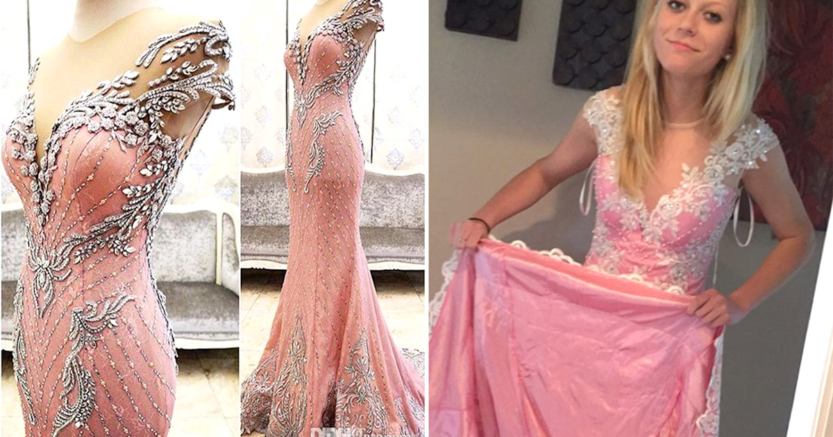 a7df2b497c Teen scammed buying prom dress online urges other to look out
