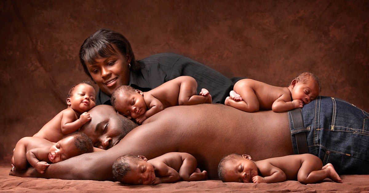 See the McGhee sextuplets now, 10 years after viral newborn photo