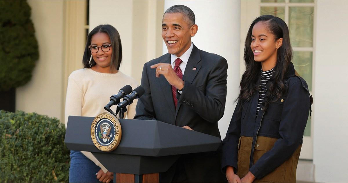 8456f3c5deeb Farewell to the first daughters  Malia and Sasha Obama s best ...