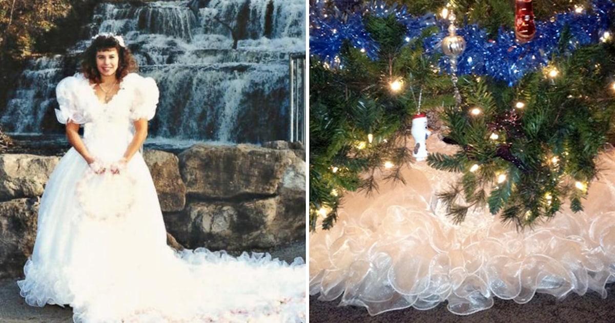 Wedding Dress Tree Skirt