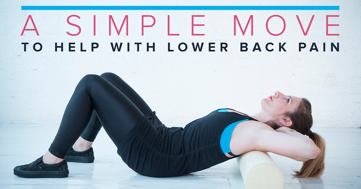 The 1 exercise to help with lower back pain
