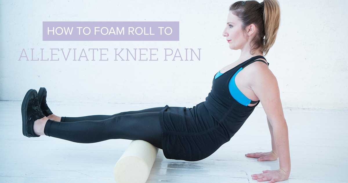 Dealing with knee pain? 3 simple stretches that can help