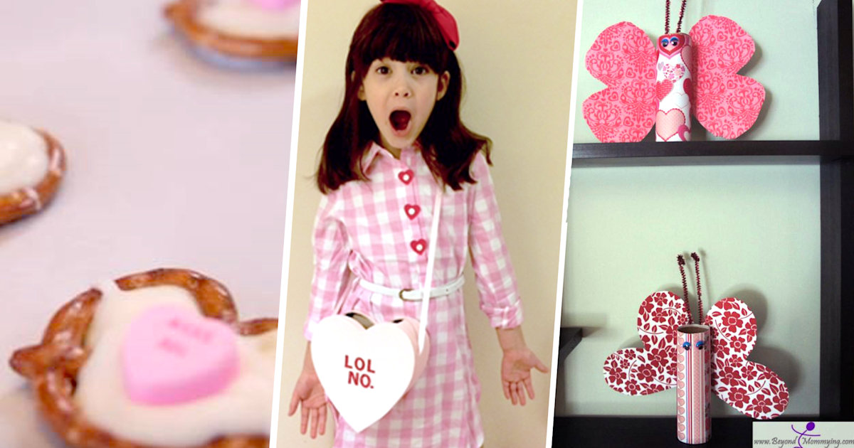 8 Valentine's Day crafts for non-crafty moms and dads