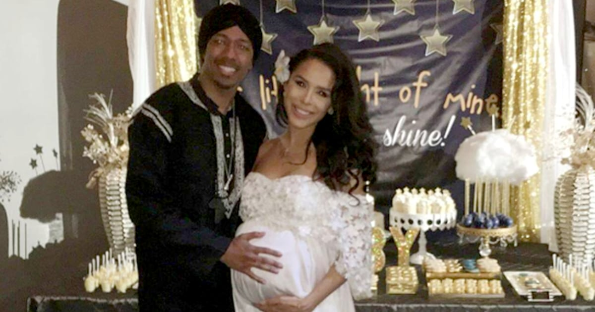 Nick Cannon Welcomes Son Golden Sagon Cannon With Brittany Bell