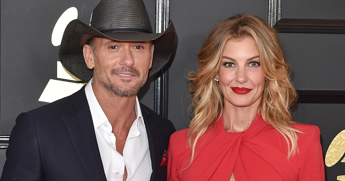 Faith Hill Shares Sweet Birthday Message For Husband Tim