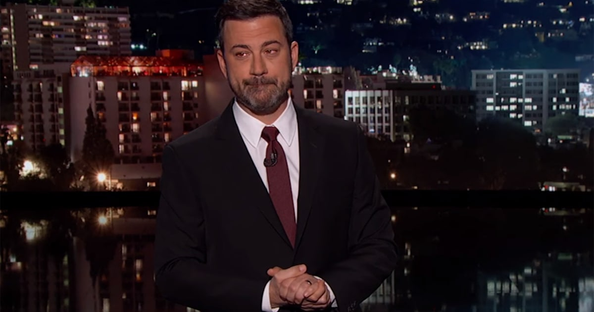 Jimmy Kimmel Reveals His Newborn Son Had Open Heart Surgery