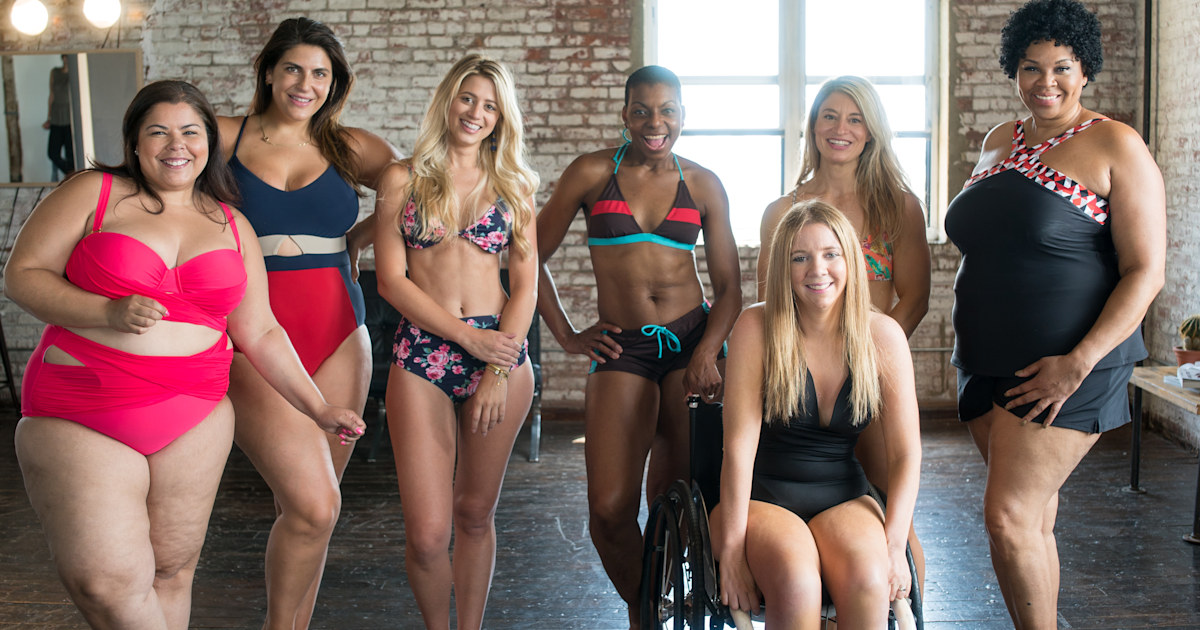 9 women strip down to send a striking message this swimsuit season