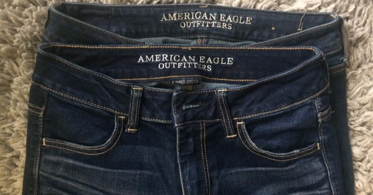 a5ec913a0747a Is 4 the new 0!  Woman blasts American Eagle s jeans sizing