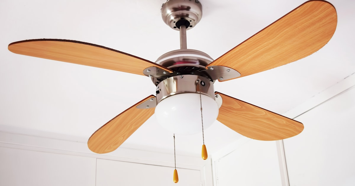 How To Clean A Ceiling Fan And When To Do It