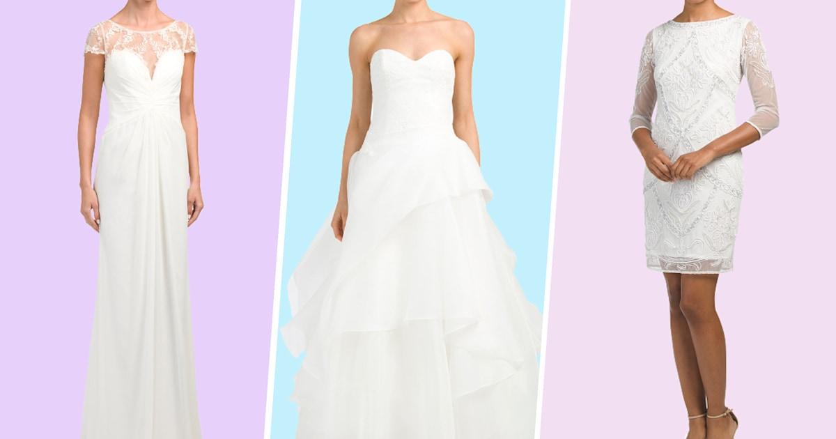 7662b746fe9 We re saying  I do  to T.J. Maxx s new wedding shop