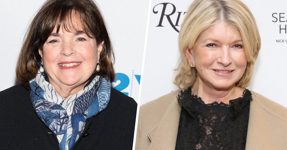 Ina Garten reveals the biggest difference between her and Martha Stewart
