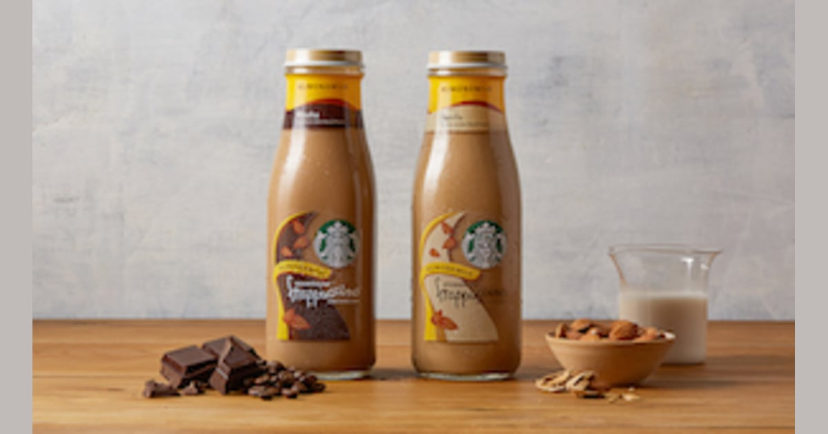 Starbucks Rolling Out First Ever Non Dairy Bottled Frappuccinos