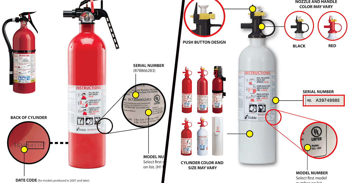 40 million fire extinguishers recalled: Check if you\'re affected