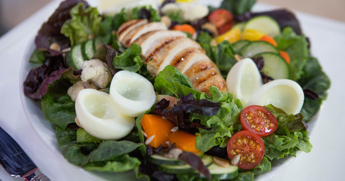 Ab-friendly meals! Joy Bauer's food plan for chiseled stomach