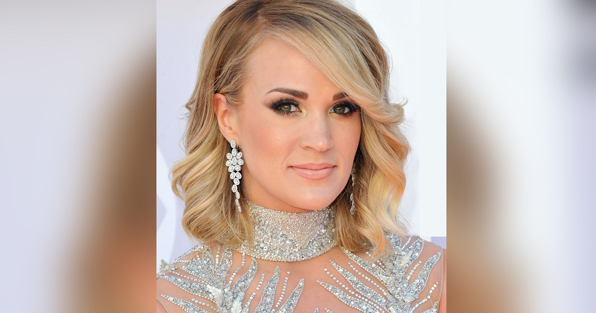 See Carrie Underwood's first picture since getting 40 stitches on her face