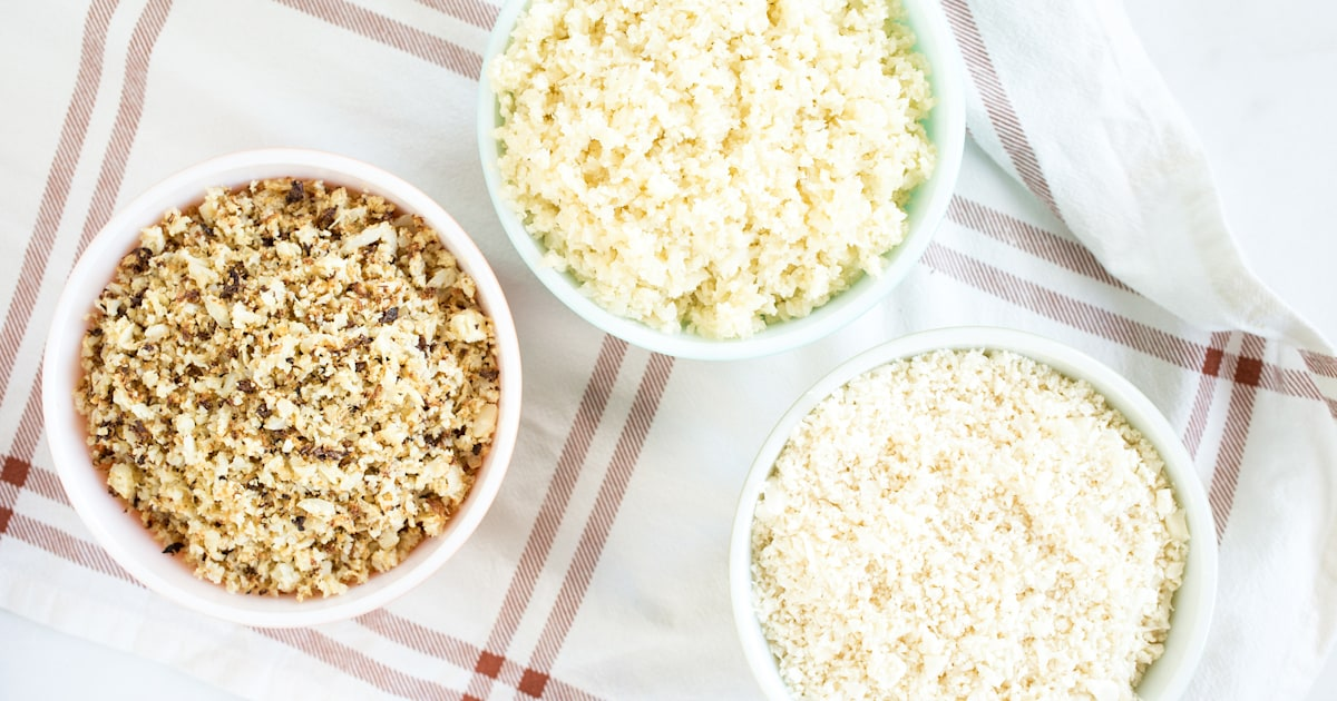 The easiest and fastest ways to make cauliflower rice at home