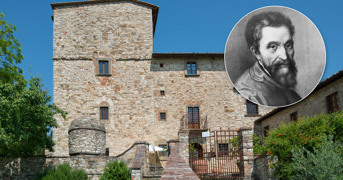 Michelangelo's Tuscan villa is for sale, and it's like a work of art