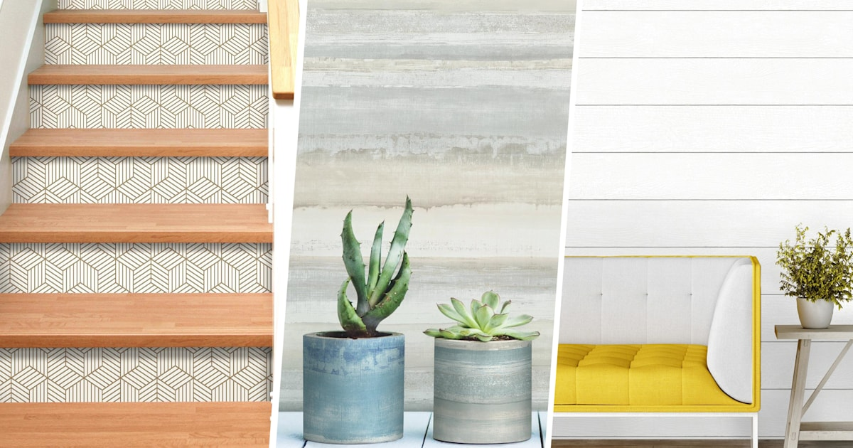 Peel And Stick Wallpaper Tips And Shopping