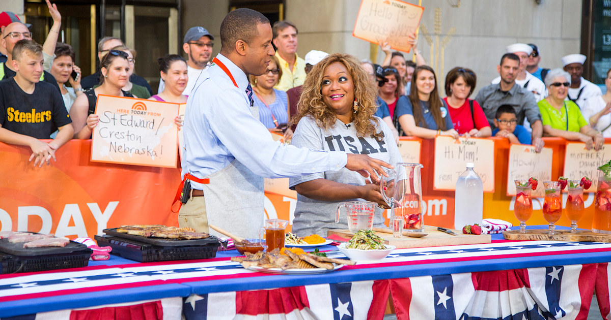 Sunny Anderson grills everything on the Fourth — even her cocktails