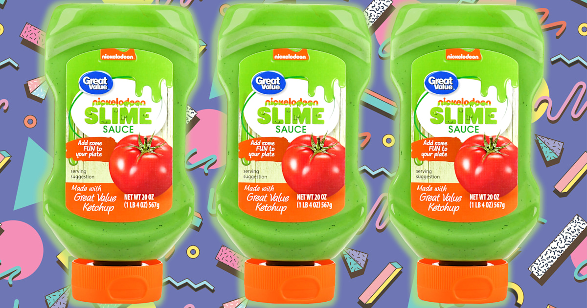 Nickelodeon S New Slime Sauce Tastes Way Better Than It Looks
