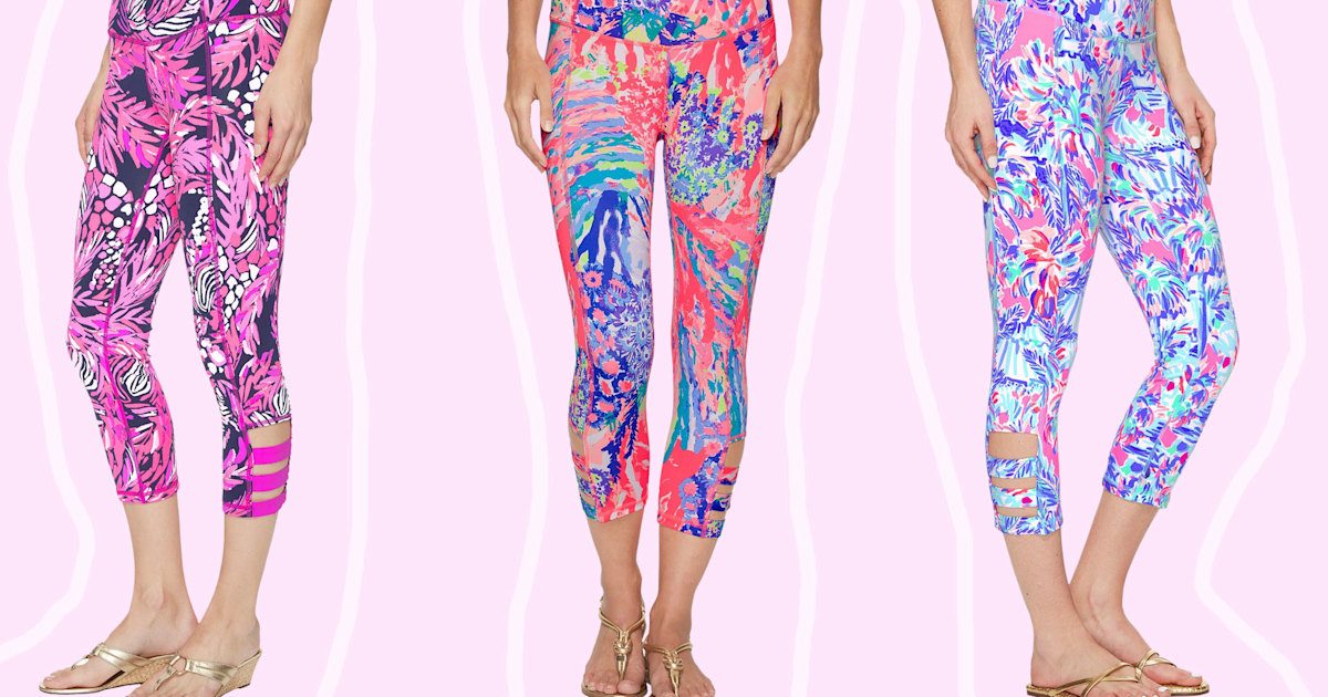 f6c7998c1d1fe Lilly Pulitzer yoga pants leggings are comfortable and cute
