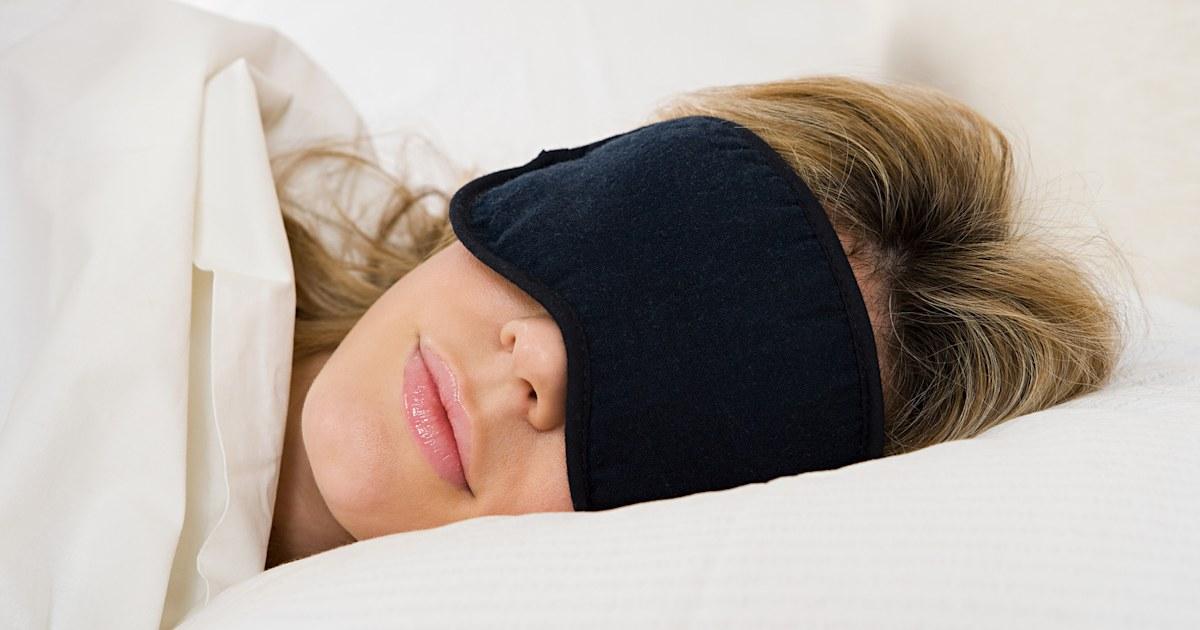 Best Sleep Mask Ever We Tried A 10 Sleep Mask With