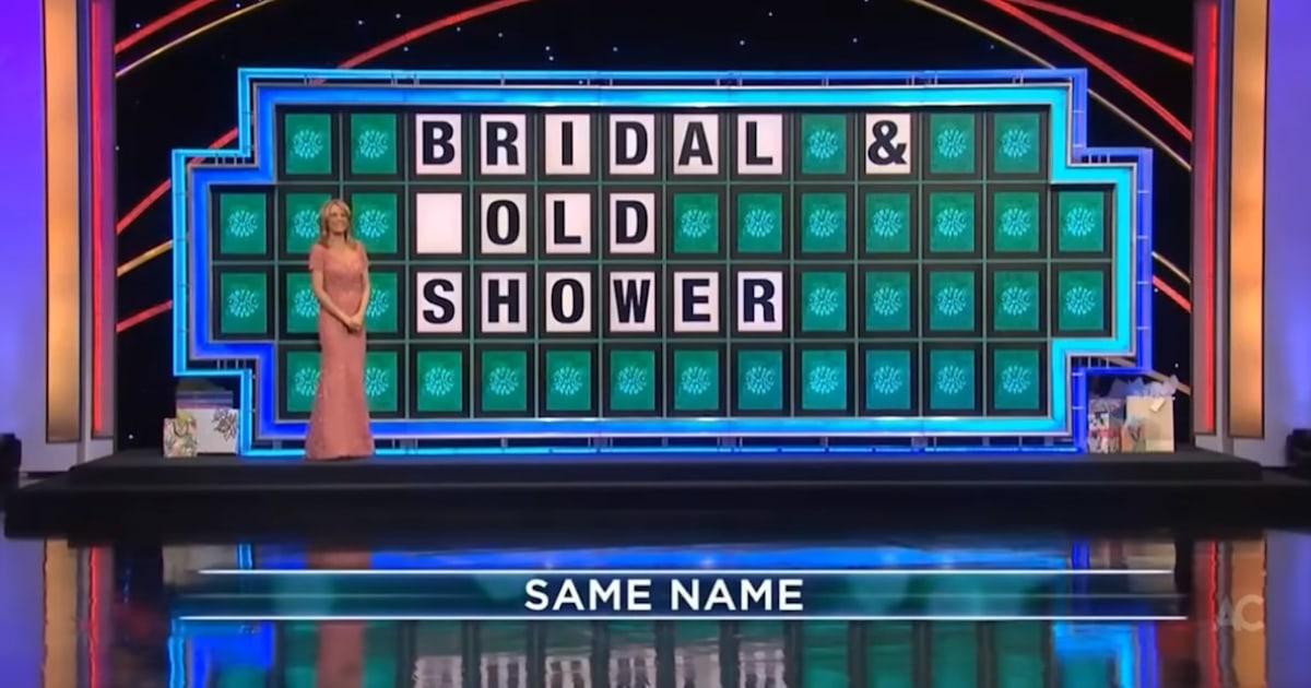 Wheel of fortune tonight