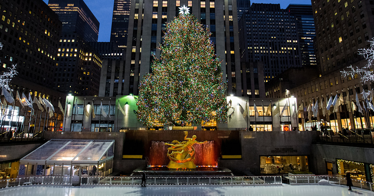 Rockefeller Center Christmas tree for 2018 has been chosen! Here's your 1st look