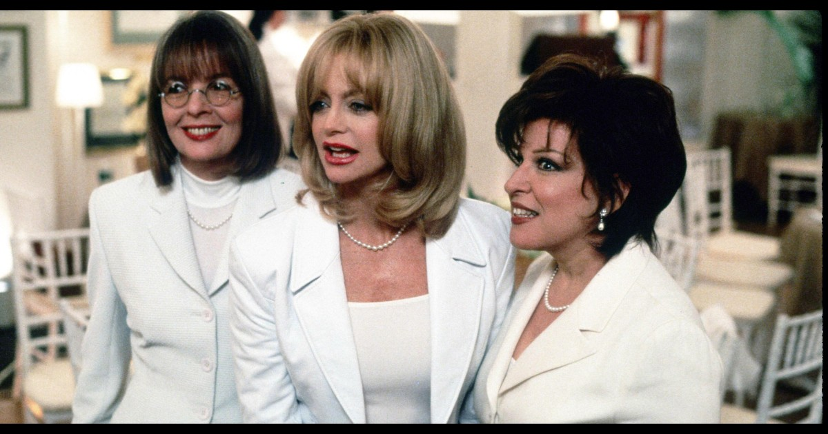 Diane Keaton shares her favorite scene from 'First Wives Club'